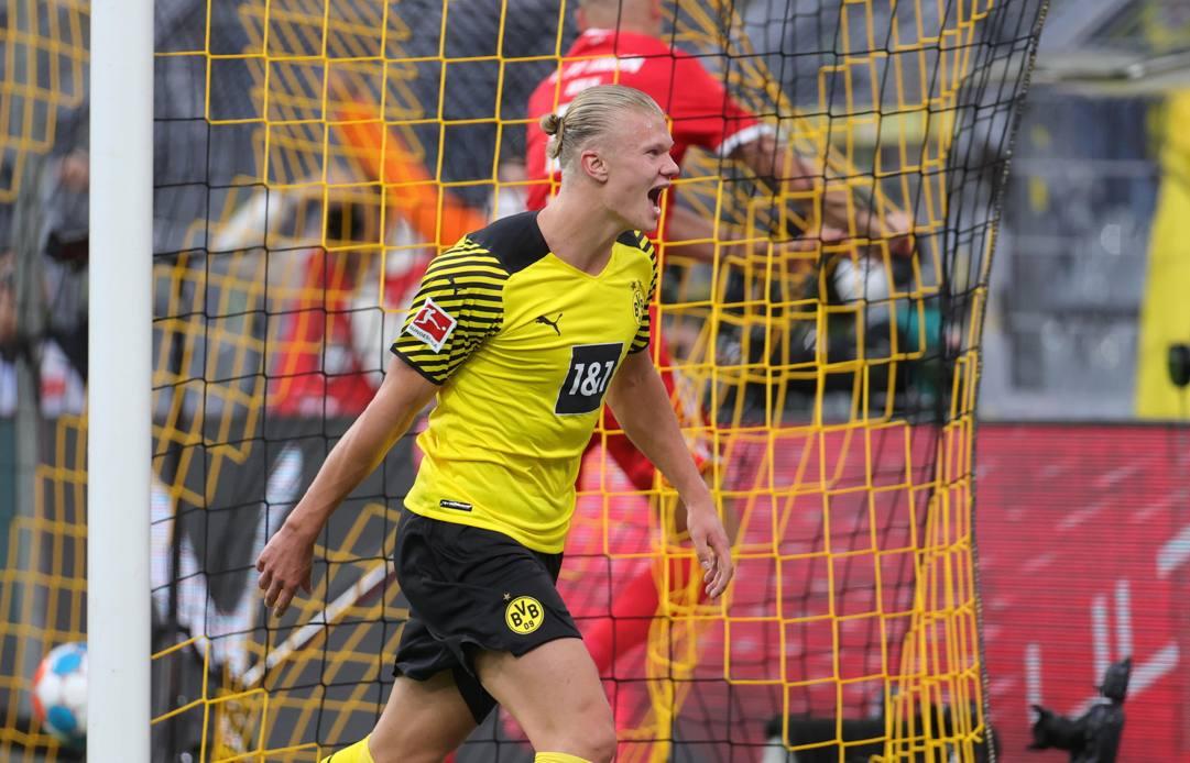Erling Haaland, classe 2000, è alla terza stagione con il Borussia Dortmund