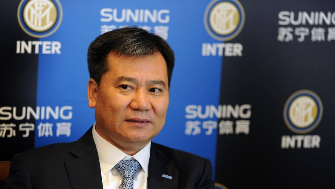 Zhang Jindong, patron dell'Inter. Getty