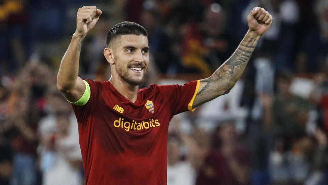 Lorenzo Pellegrini, 25 anni, è tornato alla Roma nel 2017 dopo due anni al Sassuolo. Ansa