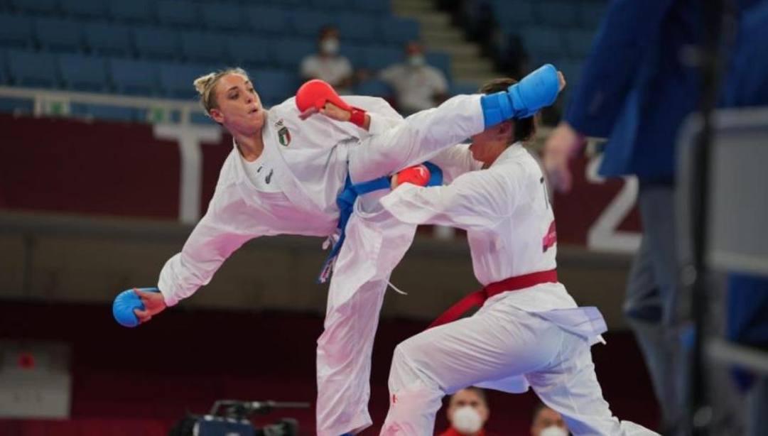 Silvia Semeraro in azione
