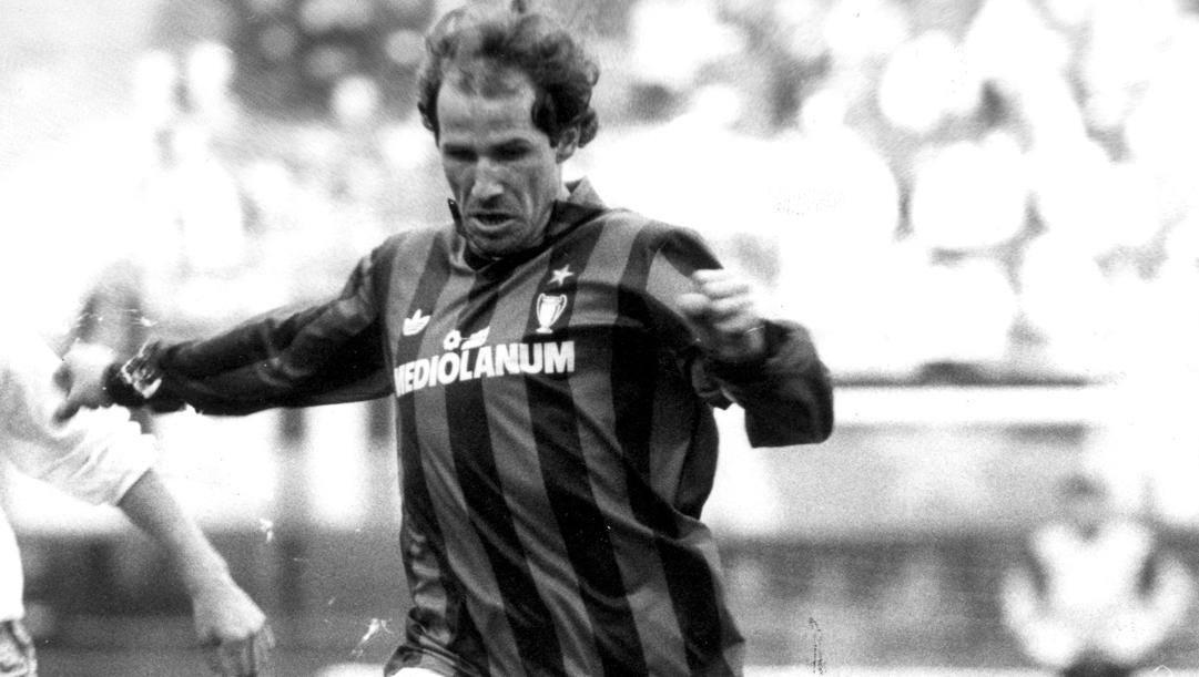 Franco Baresi nel 1990. RCS QUOTIDIANI