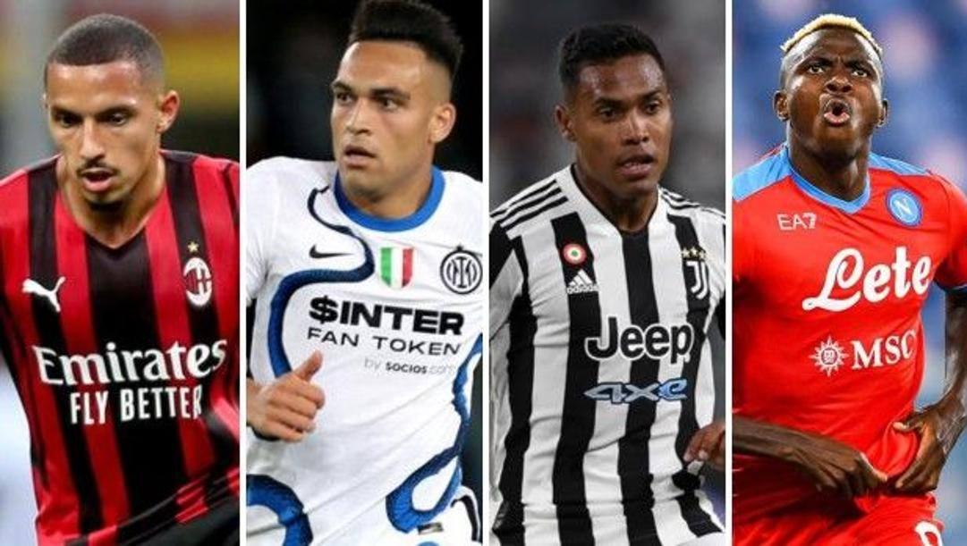 I big di Serie A impegnati con le loro  nazionali: Bennacer (Algeria), Lautaro (Inter), Alex Sandro (Juventus) e Osimhen (Napoli)
