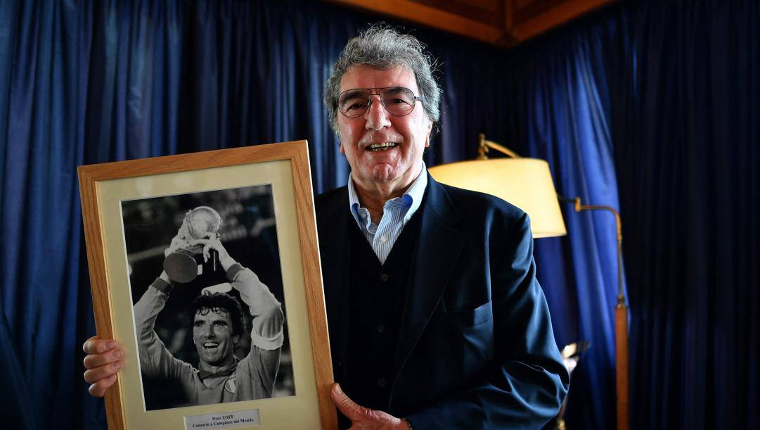 Dino Zoff, 79 anni. Afp