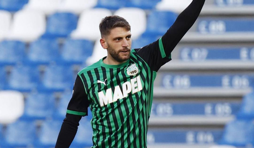 Domenico Berardi. Ansa