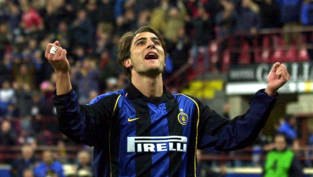 L'ex attaccante dell'Inter a Milano a segnato 21 gol in 64 partite