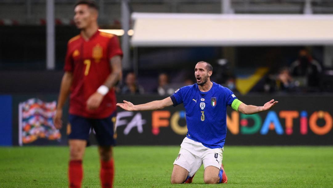 Giorgio Chiellini, 37 anni. Afp