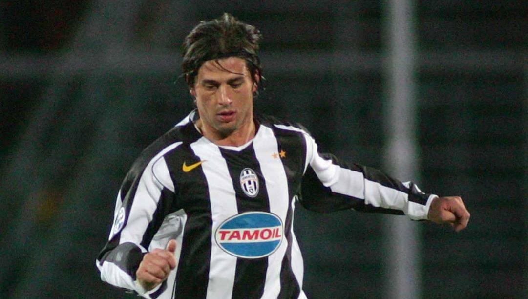 Alessio Tacchinardi qui nel 2004 in maglia Juve. Lapresse
