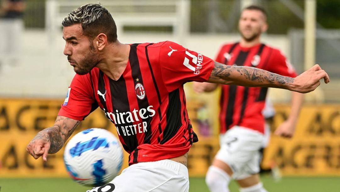 Theo Hernandez, 24 anni, è al Milan dal 2019. Afp