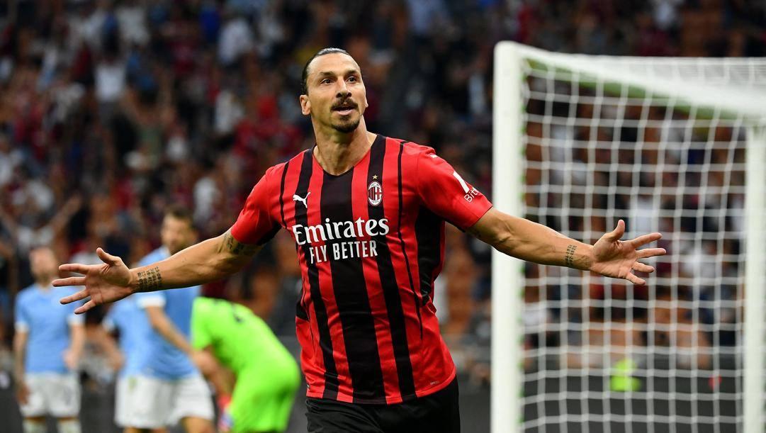 Zlatan Ibrahimovic, 40 anni. Afp