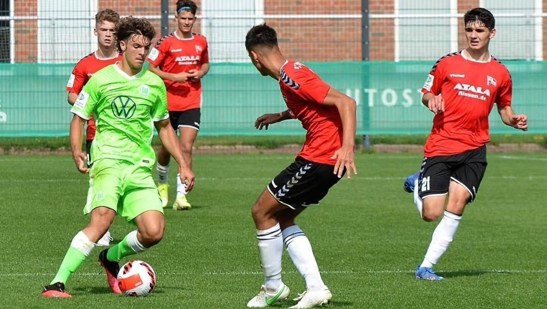 Matteo Mazzone in azione