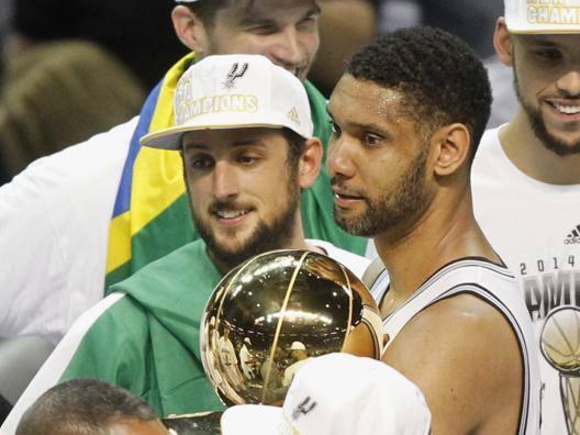 Il trionfo degli Spurs e di Marco Belinelli - Video Gazzetta.it