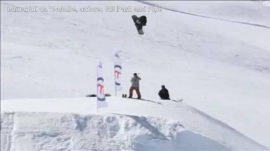Snowboard, il salto impossibile! - Video Gazzetta.it