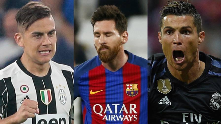 Juventus Dybala Insegue Messi E Cristiano Ronaldo Video Gazzetta It