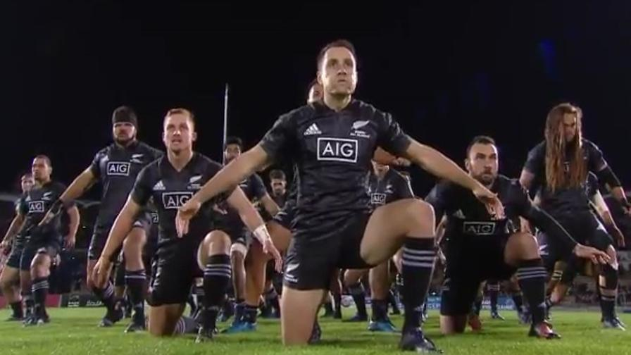 Haka da brividi dei Maori All Blacks