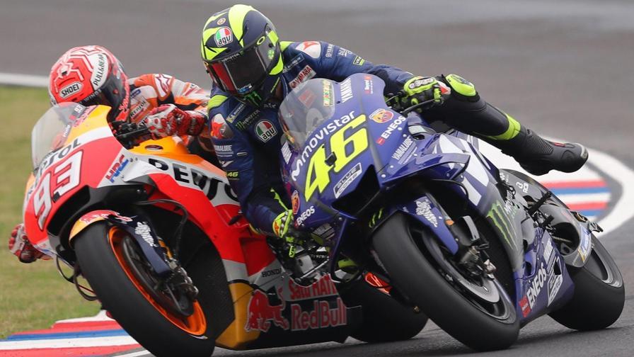 Rossi-Marquez, una lite infinita