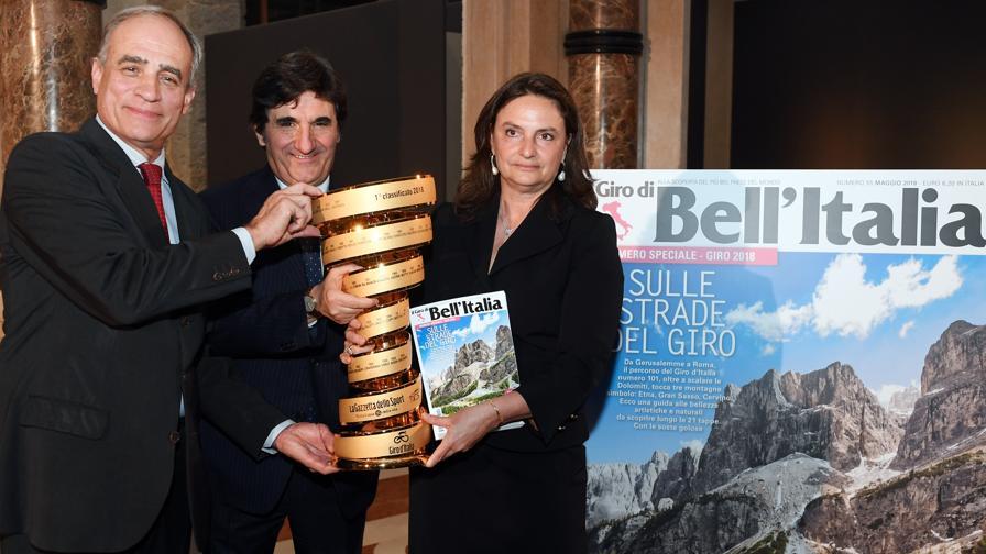 """Cairo: """"Mi aspetto un Giro d'Italia davvero importante"""""""