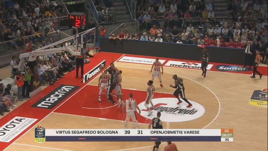 Bologna-Varese 69-71