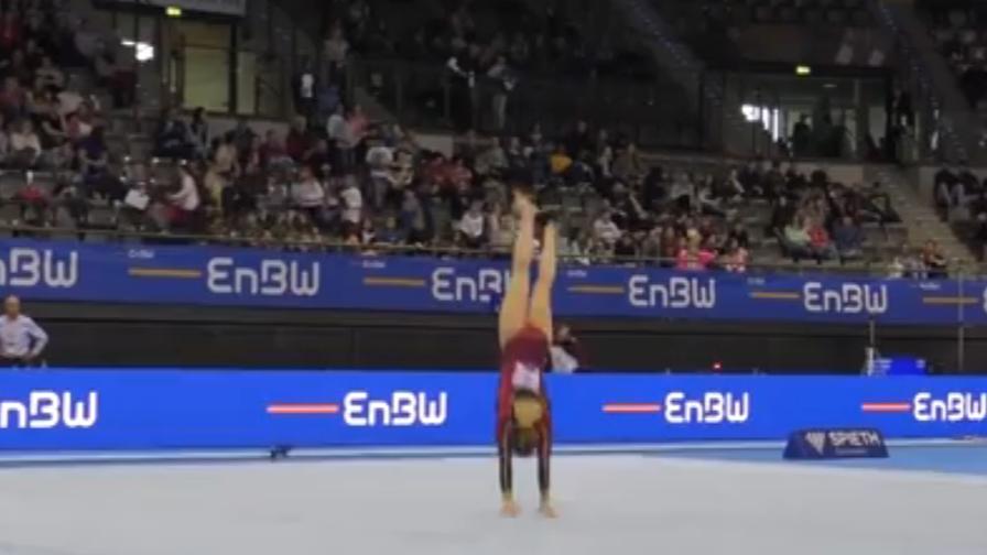 La ginnasta è magica: esibizione alla Harry Potter