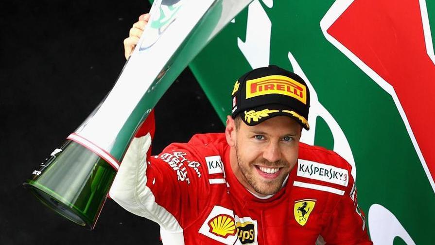 Vettel, trionfo sulla pista di Gilles