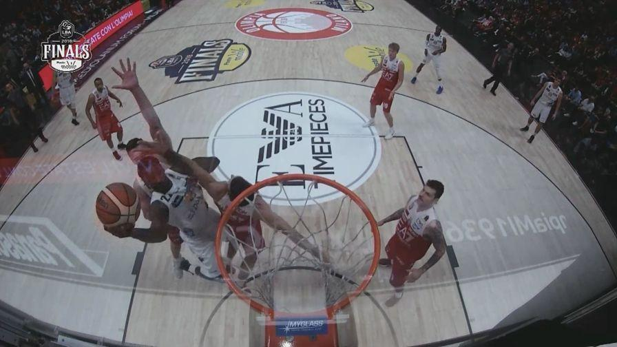 Milano-Trento 91-90  gli highlights di gara 5 - Video Gazzetta.it e3dedb232cc