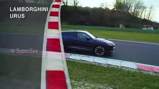 Urus, il test col super Suv Lamborghini