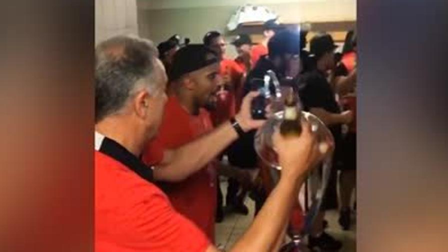 Basket, Milano campione: la festa dei giocatori sui social