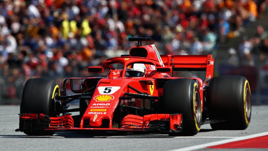 Vettel, senza quell'errore...<br>Kimi, ora corri sempre così