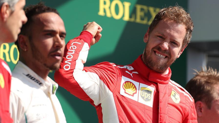Vettel, 296 metri perfetti<br>Ma per battere Hamilton...