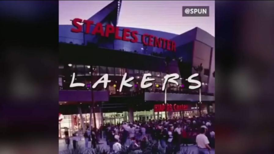 I Lakers come Friends: e LeBron diventa una sigla...