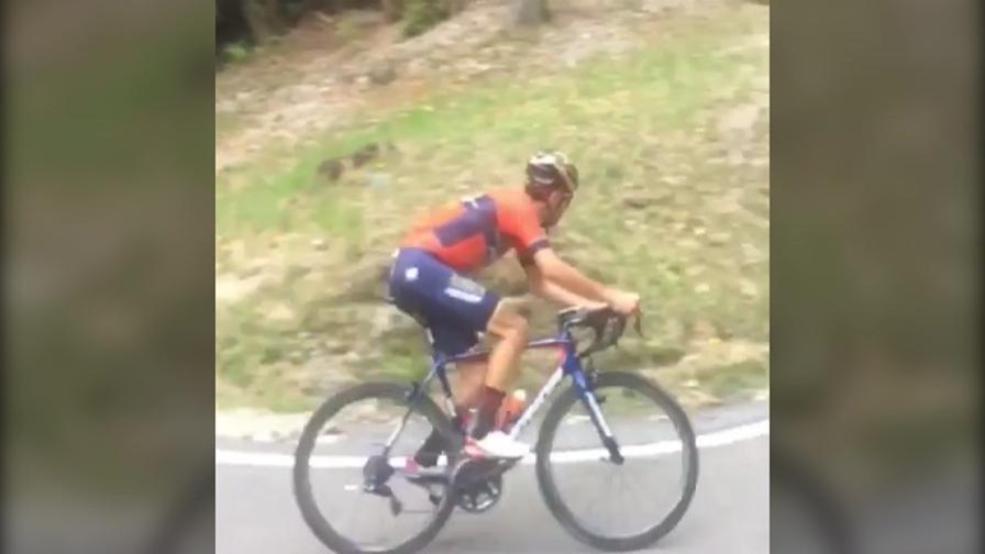 Incredibile Nibali Eccolo In Bici Video Gazzettait