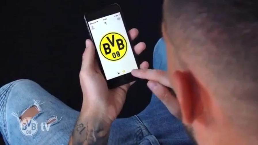 Alcacer e il Borussia si trovano sull'app per single: il video è virale!