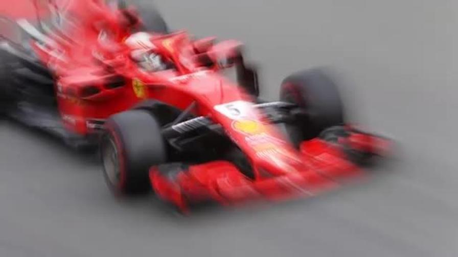 """Kimi in pole, Vettel ai box: """"Parliamo dopo"""""""
