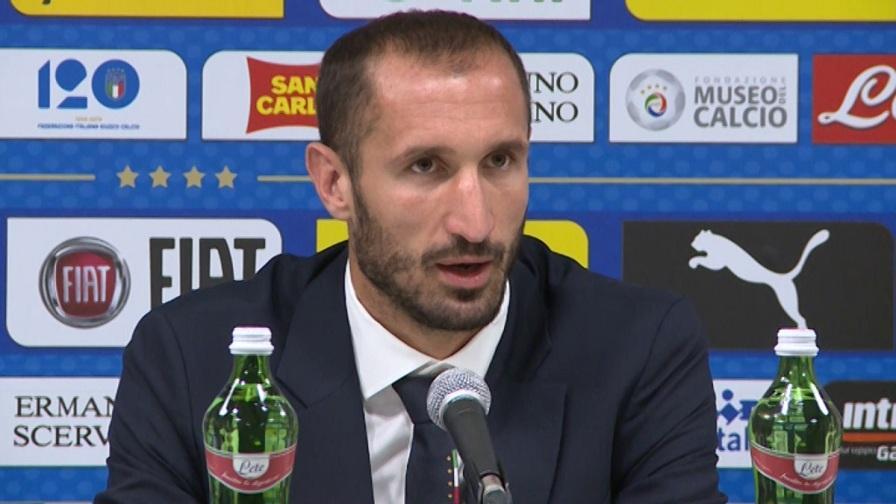 """Chiellini: """"Io capitano? Ci sono anche De Rossi e Gigi..."""""""
