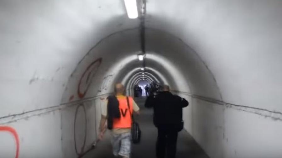L'inferno del Marakana<br>Vi portiamo nel tunnel<br>più temuto d'Europa
