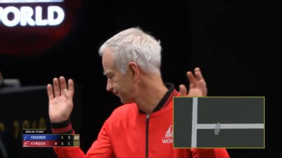 McEnroe, sempre il solito: litiga con l'arbitro e...