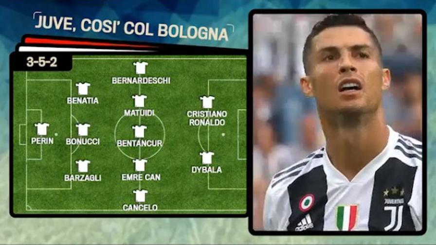 CR7-Joya, la Juve vuole gol<br>Ecco il 3-5-2 per il Bologna