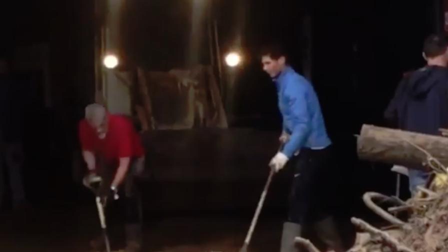 Alluvione a Maiorca, Nadal aiuta i volontari