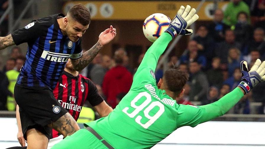 Minuto 92, Icardi beffa Gigio: il derby è nerazzurro...