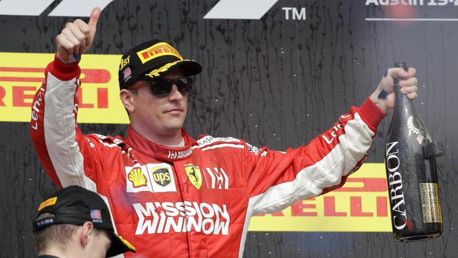 """""""Il giusto premio per Kimi<br>Vettel, l'errore e il lampo"""""""
