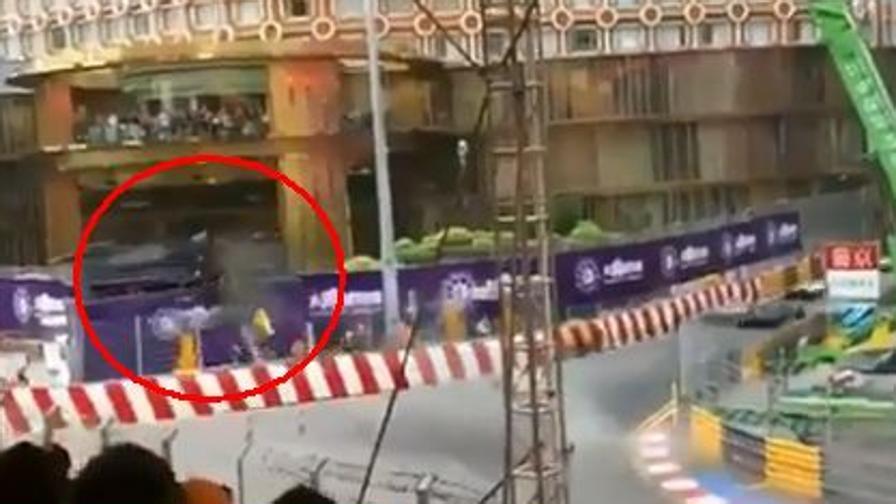 Macao: terribile incidente per la Floersch