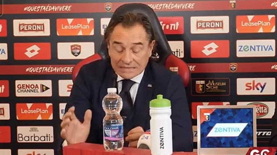 """Prandelli e la gaffe da emozione: """"Fortuna e f**a"""""""