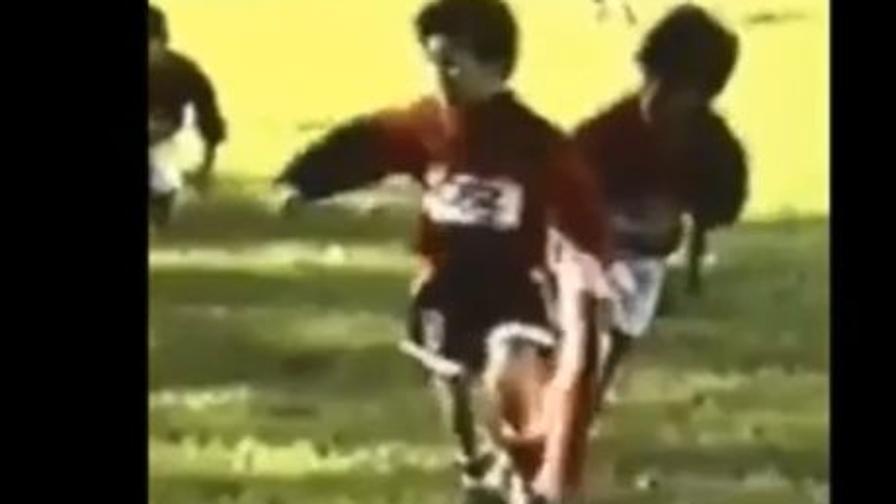 Messi bambino, l'omaggio del Newell's
