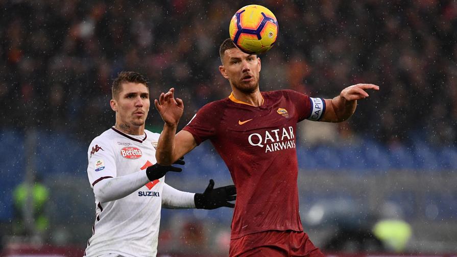 Roma-Torino 3-2, quante emozioni nella pioggia