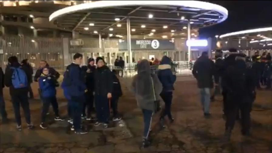 San Siro dei bambini: l'afflusso allo stadio