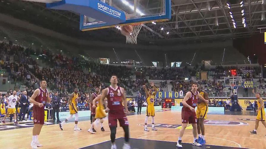 Basket, highlights Torino-Venezia
