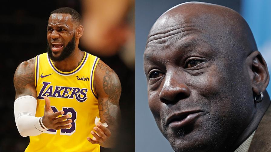 Lakers, playoff a rischio<br>Jordan ricorda chi è il re
