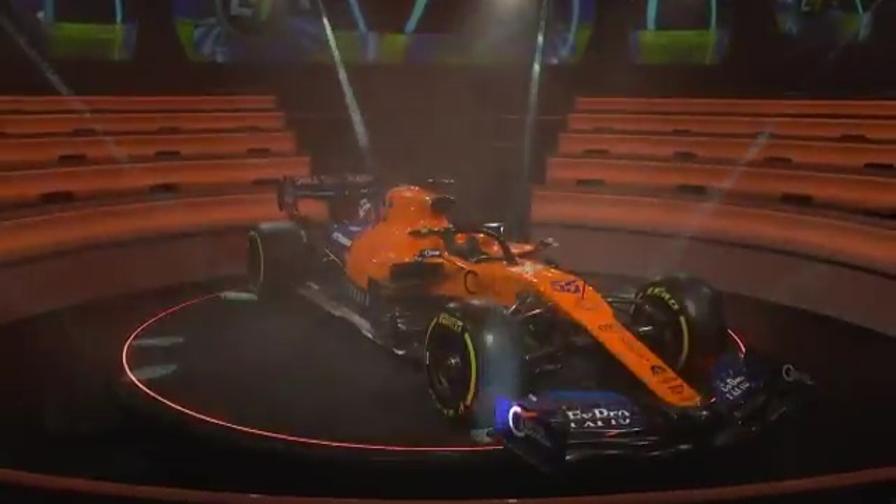 McLaren, ecco la nuova MCL34 di Sainz e Norris