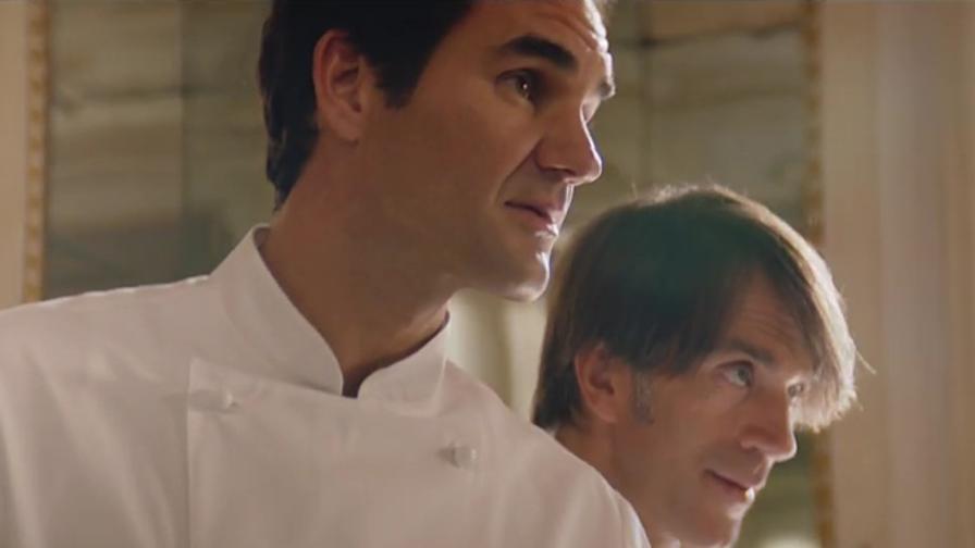 Federer cuoco per la Shiffrin