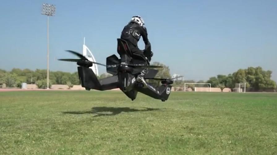 La moto volante da 150 mila dollari