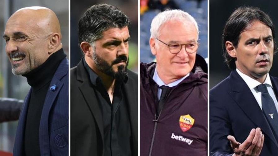 Inter, Milan, Roma e Lazio<br>Ecco la corsa Champions